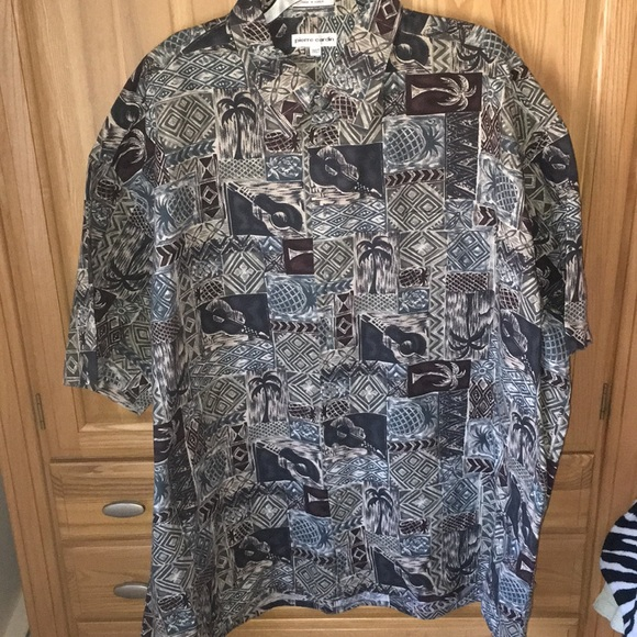 Pierre Cardin Other - Pierre Cardin Island Shirt 3XLT